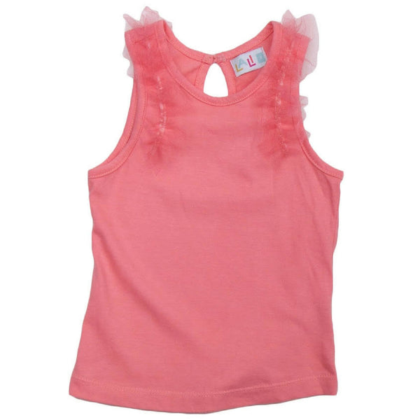 lali kids tank top peach blossom
