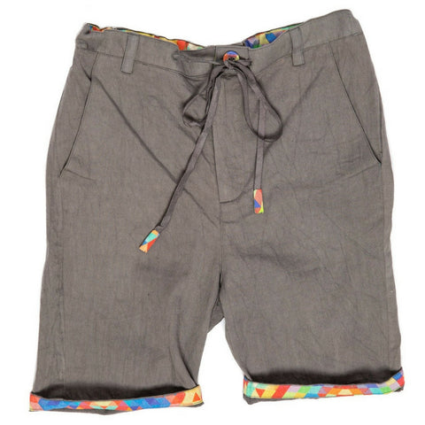 marin and morgan boys grey summer shorts