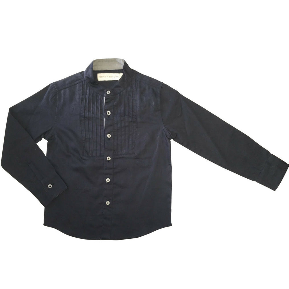 marin and morgan mandarin tuxedo shirt