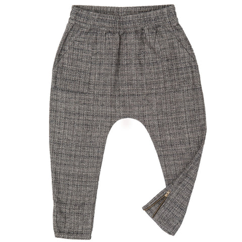 marin and morgan boys patch pocket pants grey