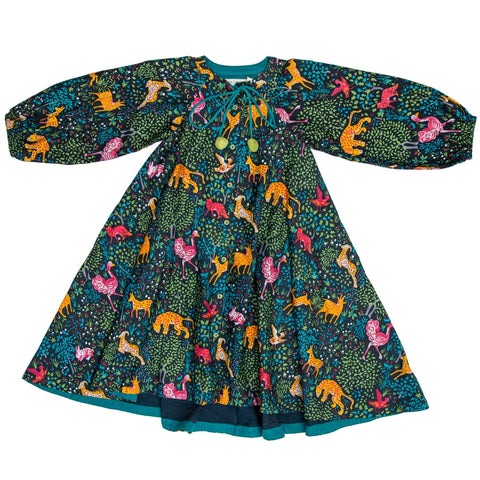 marin and morgan girls tent dress in madagascar print