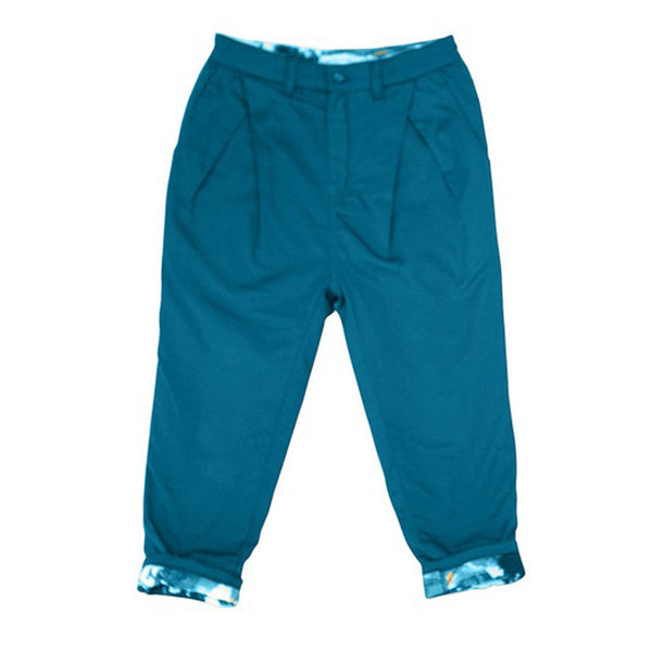 marin + morgan pleated front pants indigo boys pants