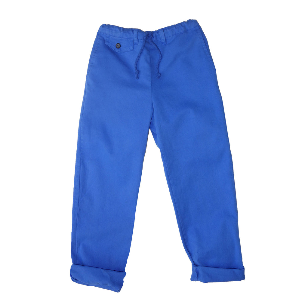 nico nico right on twill blue trouser boys pants