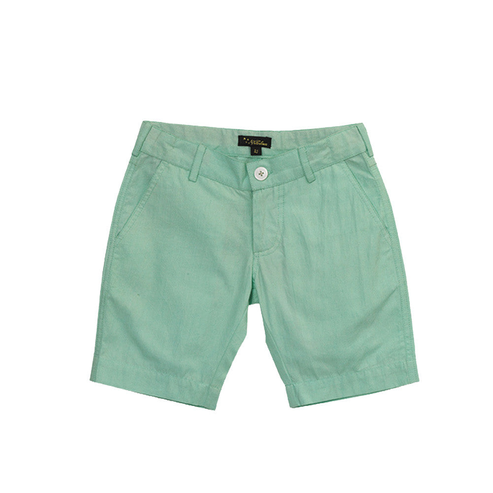 velveteen scott bermuda mint boy shorts