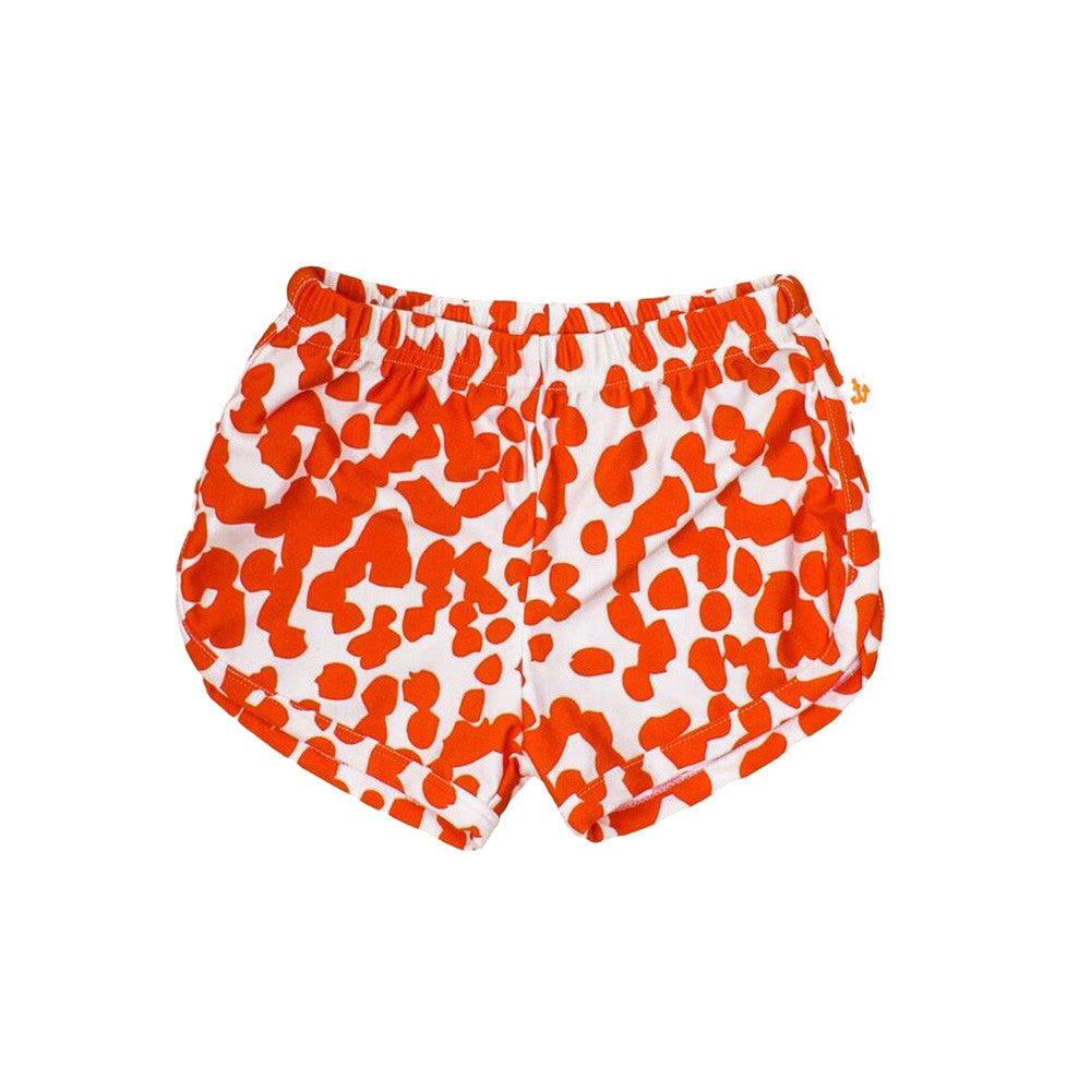 noe and zoe coral stains boys swim shorts
