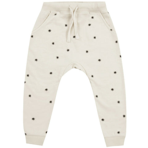 Rylee + Cru Starlight sweat pants boys girls unisex cream