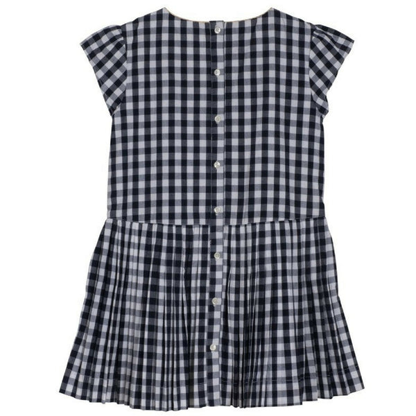 velveteen bea dress midnight gingham check back