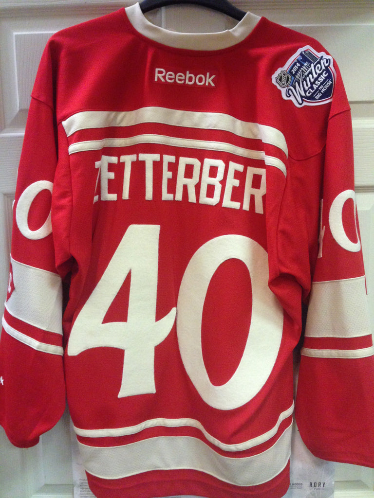 Zetterberg Detroit Red Wings 2014 Winter Classic Jersey Authentic – Pro  Edge Sports 97d13379c37