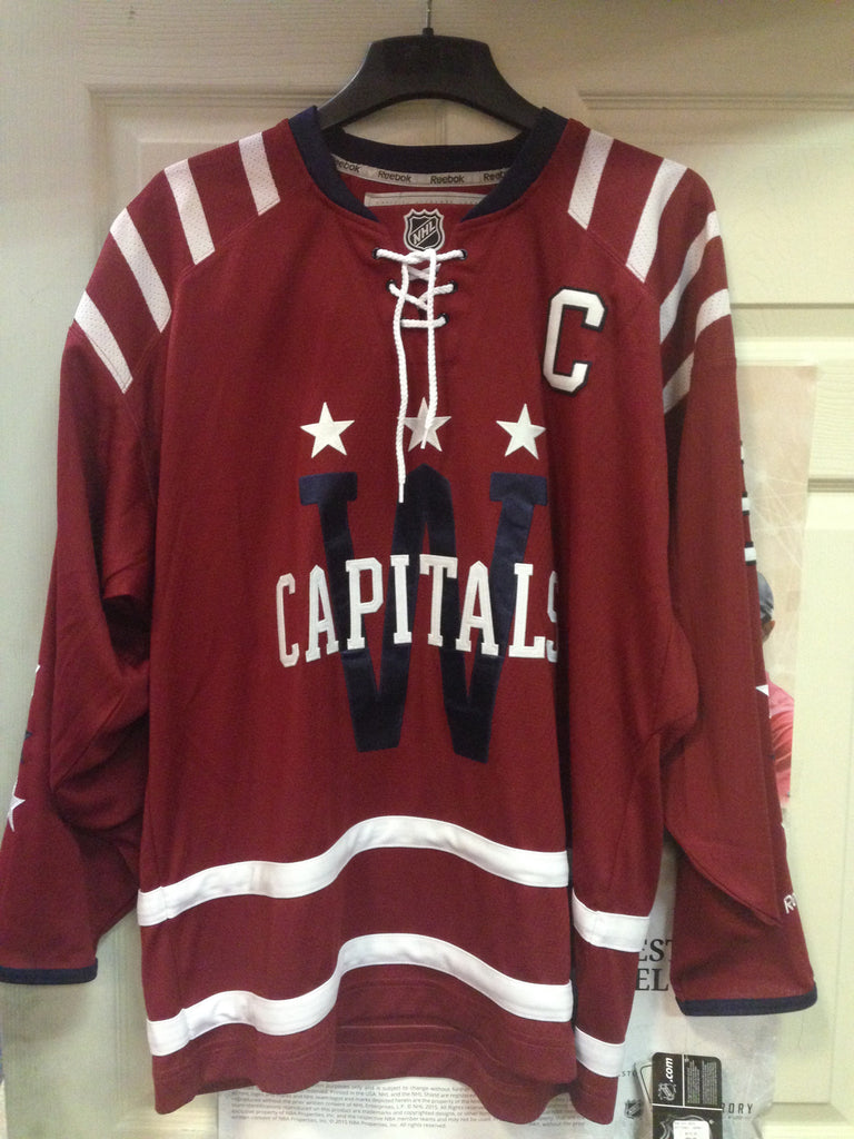 new product 82d36 37480 Alexander Ovechkin Washington Capitals 2015 Winter Classic Stitched Jersey