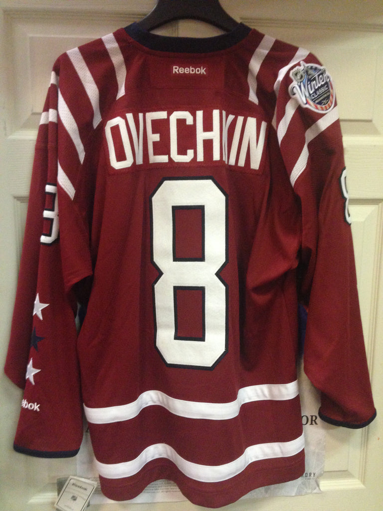 new product 7b673 22a7f Alexander Ovechkin Washington Capitals 2015 Winter Classic Stitched Jersey