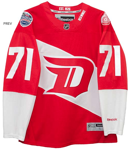 6ed305701a9 ... Dylan Larkin Detroit Red Wings 2016 Stadium Series Premiere Jersey  STITCHED