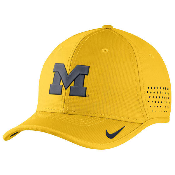 ... Michigan Wolverines Nike Coaches Sideline Vapor Performance Adjustable  Hat 76f455e8d6c