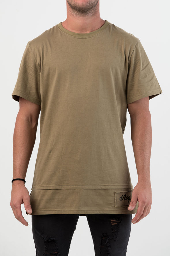 Liverpool Layer Tee - Khaki