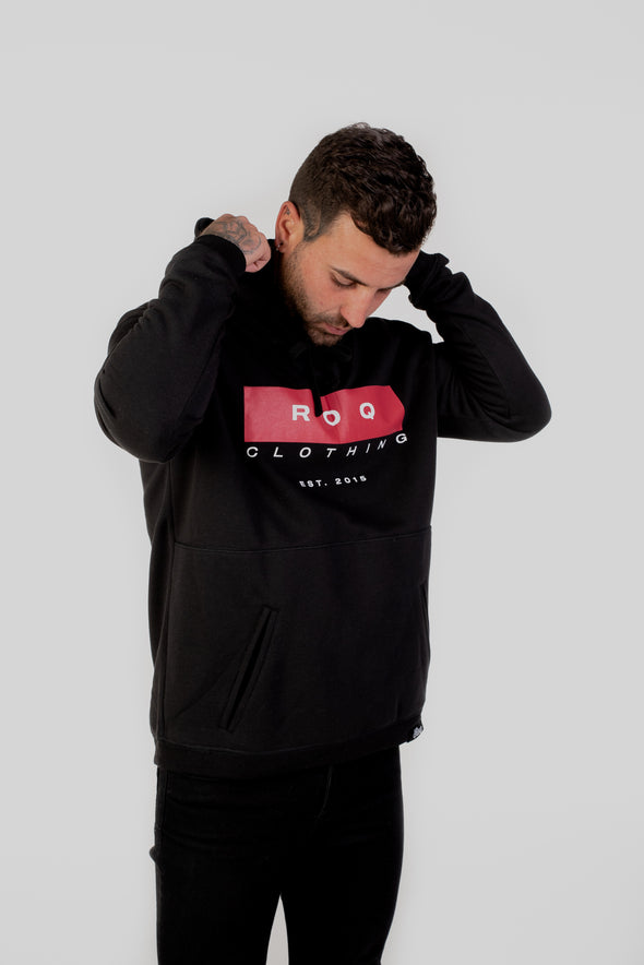 Red Logo Hoody