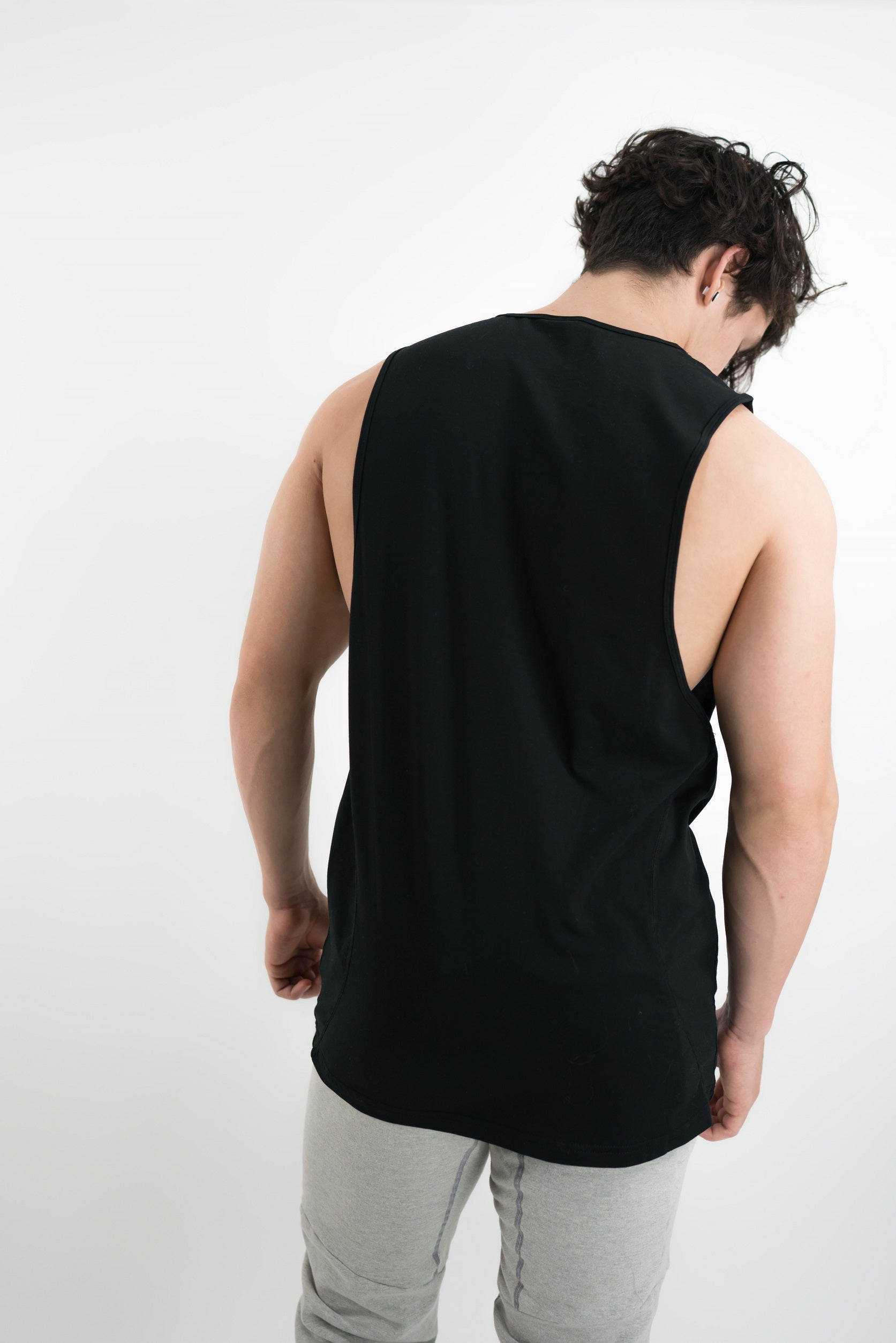 Rayon Lock Tanks - Black