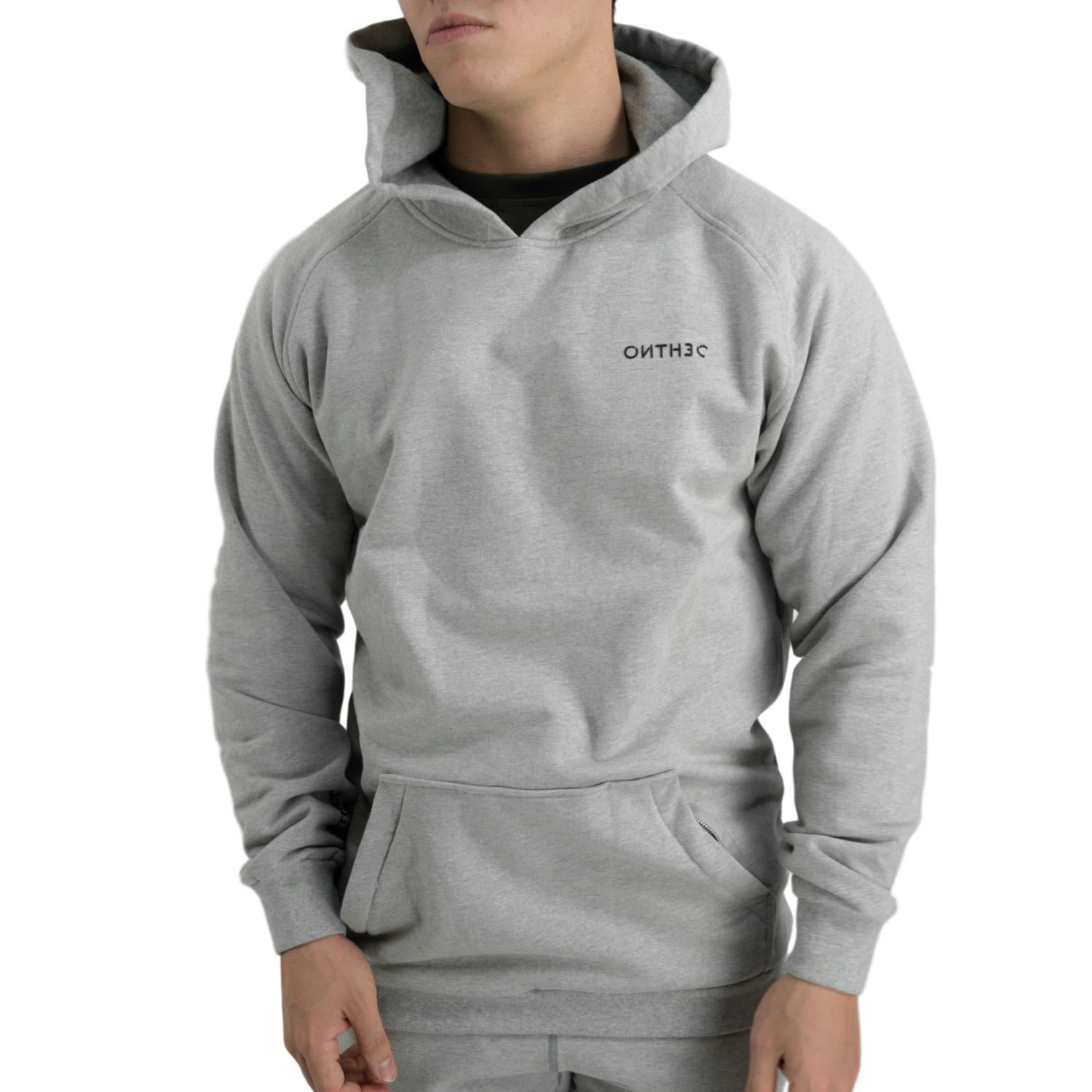 SS3016 Tech Fleece Hoodie // Heather Grey