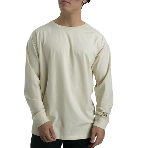 Oversized Rayon Long Sleeve - Off White