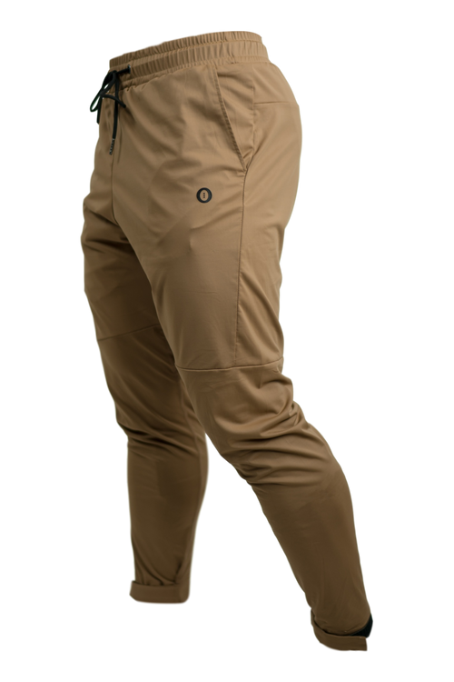 Lycra Tech Joggers - Brown