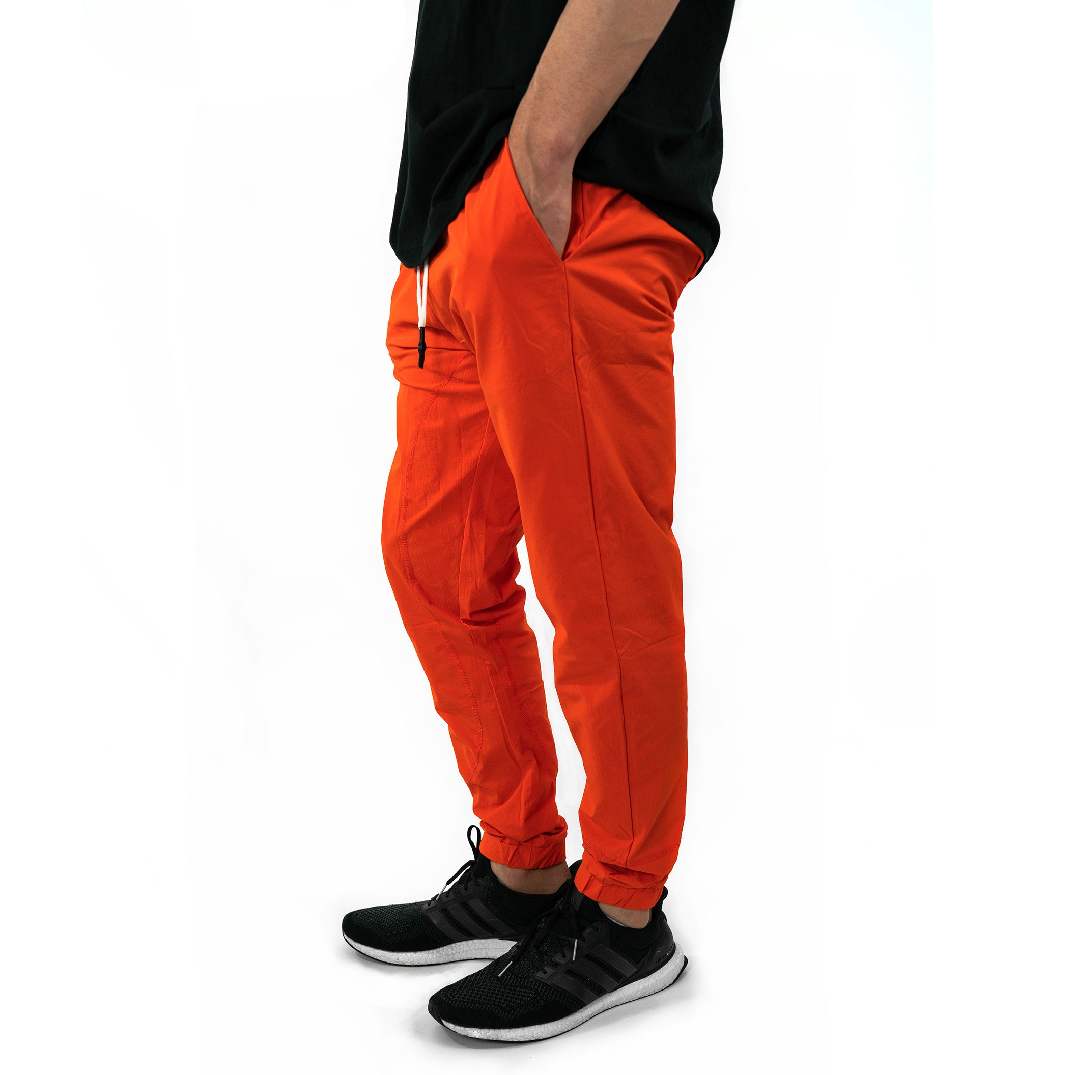 Cuffed Track Joggers [Burnt Orange]