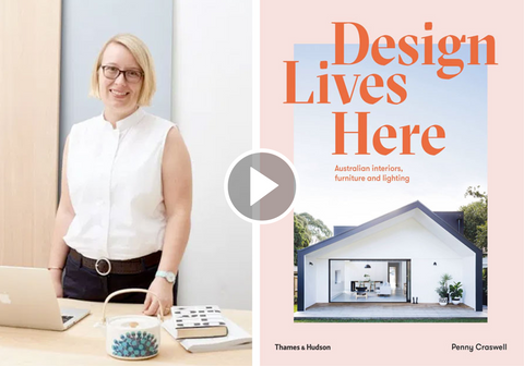 Watch Penny Craswell in conversation on Design Lives Here