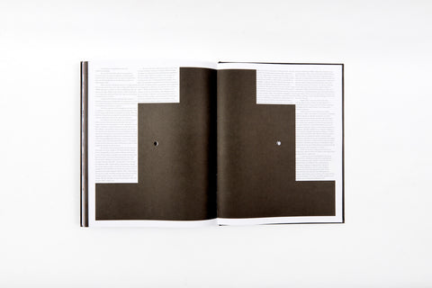 "Praise for the graphic design of <i>God in Reverse</i> ""...looks like no other architect monograph we've ever seen"""