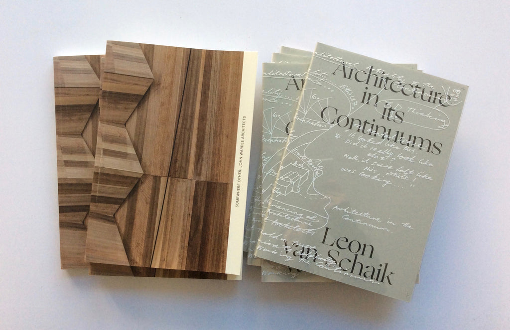 Architecture in its Continuums and Somewhere Other shortlisted for the 2018 DINZ Best Design Awards