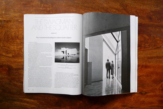 Architecture Australia features Falls the Shadow