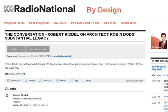 Robert Riddel on ABC By Design