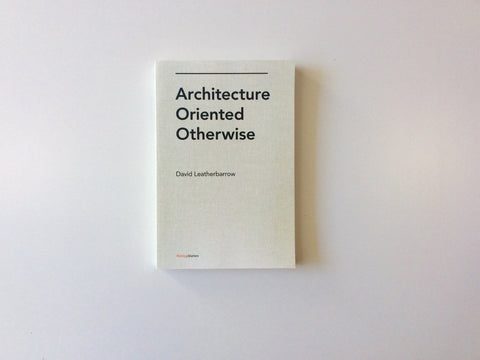 Architecture Oriented Otherwise Cover