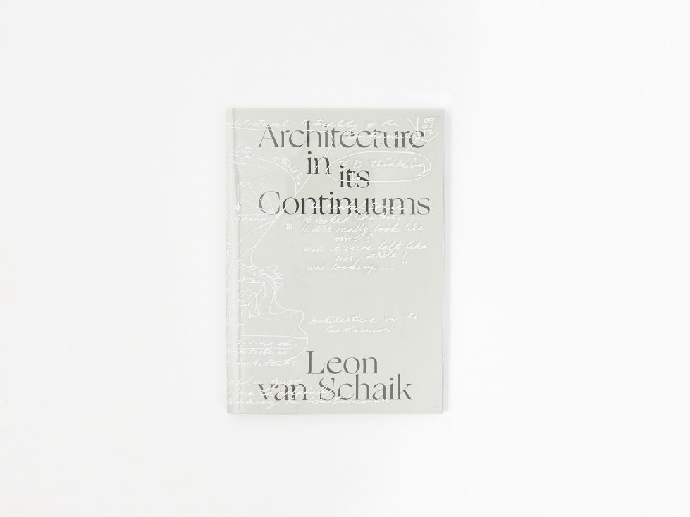Architecture in its Continuums, 9780994269799