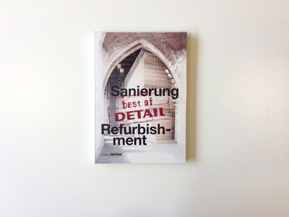 Best of Detail: Sanierung/Refurbishment Cover
