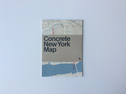 Concrete New York Map