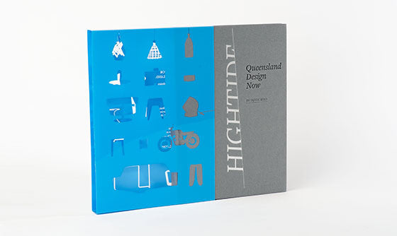 Hightide: Queensland Design Now, cover with slipcase; 9780987228147