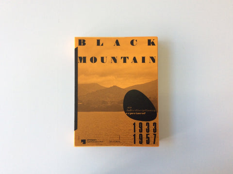 Black Mountain: An Interdisciplinary Experiment 1933-1957 9783959052689