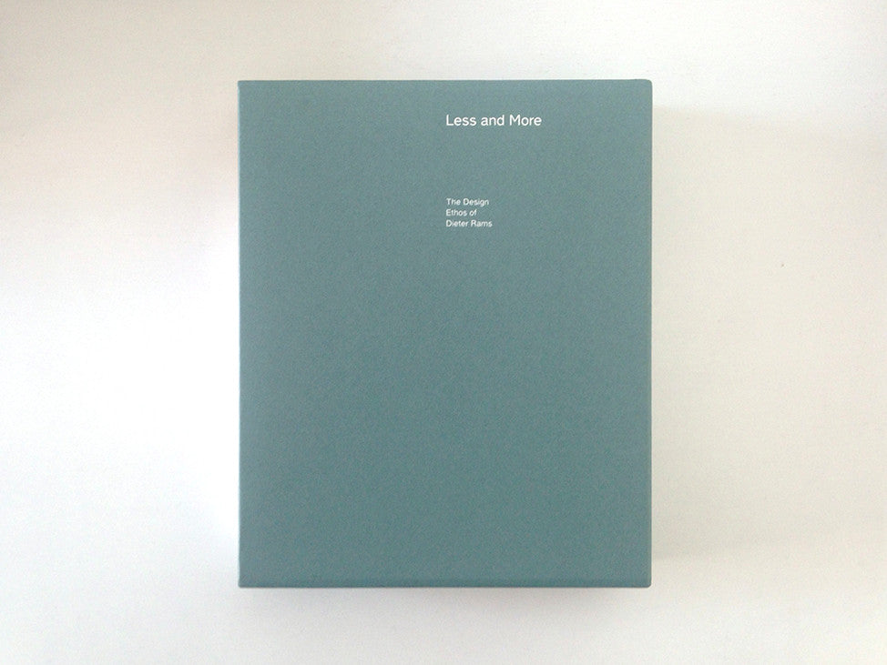 Less and More: The Design Ethos of Dieter Rams slipcase cover