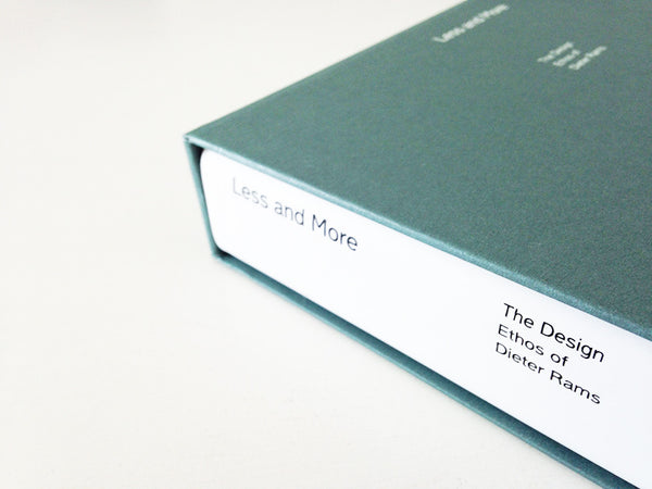 Less and More: The Design Ethos of Dieter Rams slipcase and book