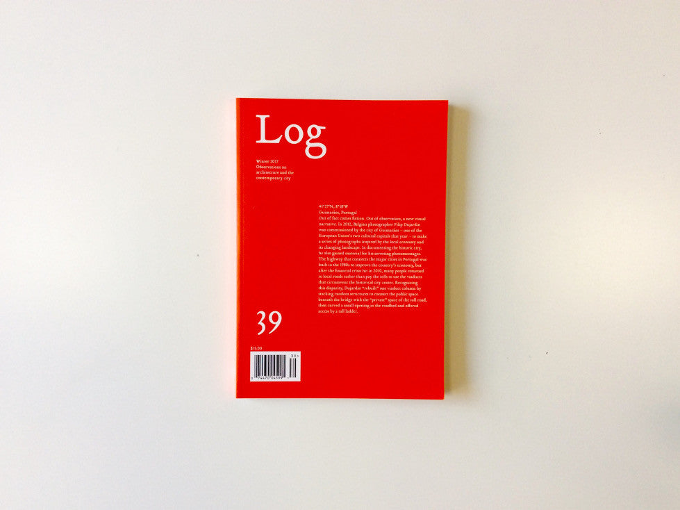 Log 39 Cover