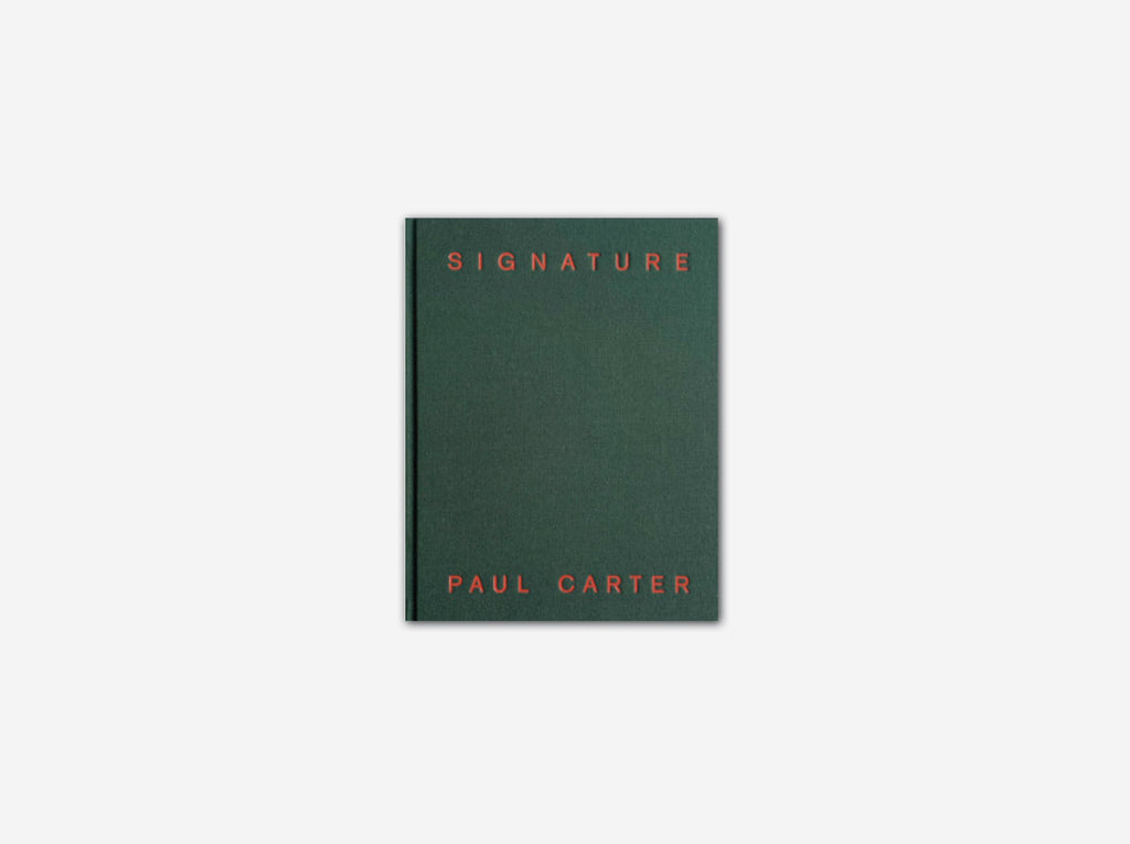 Signature – Paul Carter