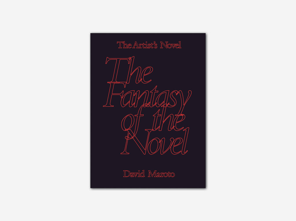 The Artist's Novel: The Fantasy of the Novel