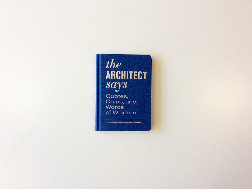 The Architect Says Cover