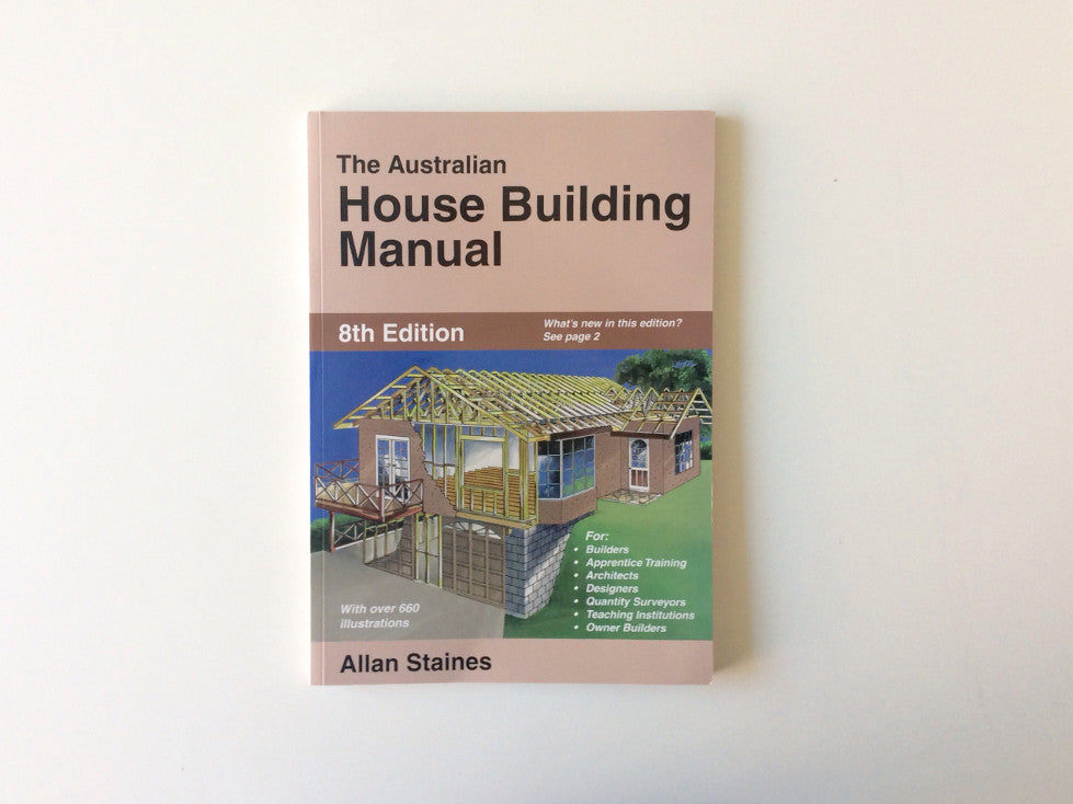 The Australian House Building Manual Cover