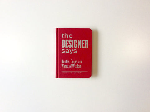The Designer Says Cover