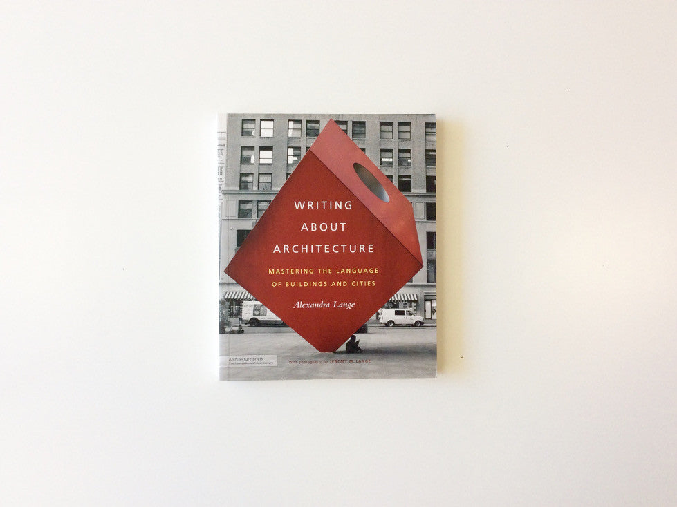 Writing About Architecture Cover