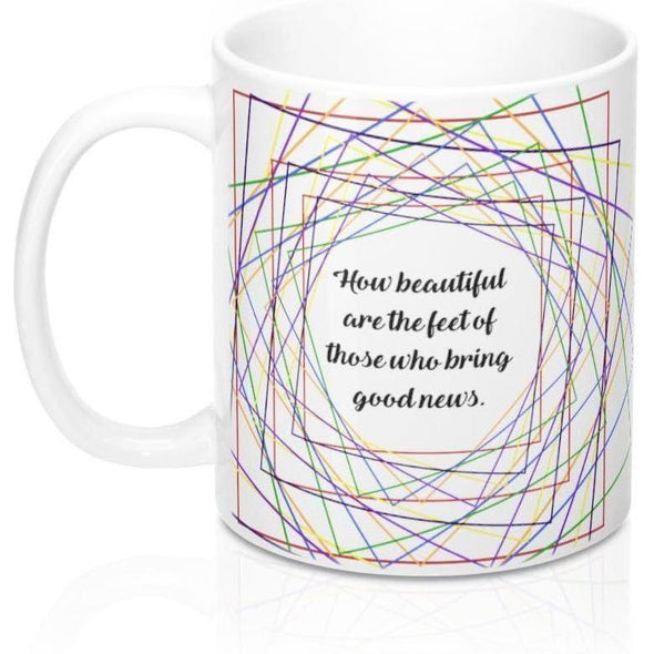 Good News Rainbow 11oz Mug
