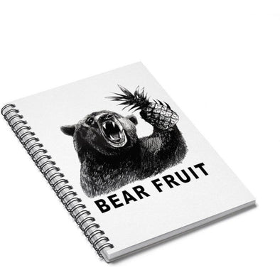 Bear Fruit Spiral Journal