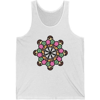 Back Row Kaleidoscope Tank