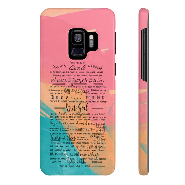 Ephesians 2:1-10 (#2) Slim Phone Case