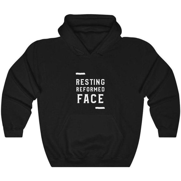 Honest Youth Pastor Resting Reformed Face Hoodie