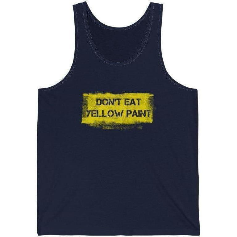 Yellow Paint Tank