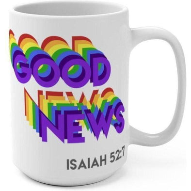 Good News Rainbow 15oz Mug